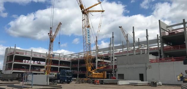Bauvorgang 2018