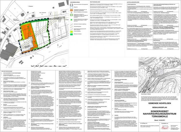 Nahversorgungszentrum Nohfelden-Türkismühle Bebauungsplan