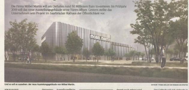 Zeitungsartikel Zeitung für Saarbrücken Mai 2017